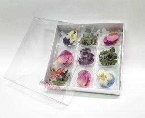 Suri de 9 unidades flor cristalizada