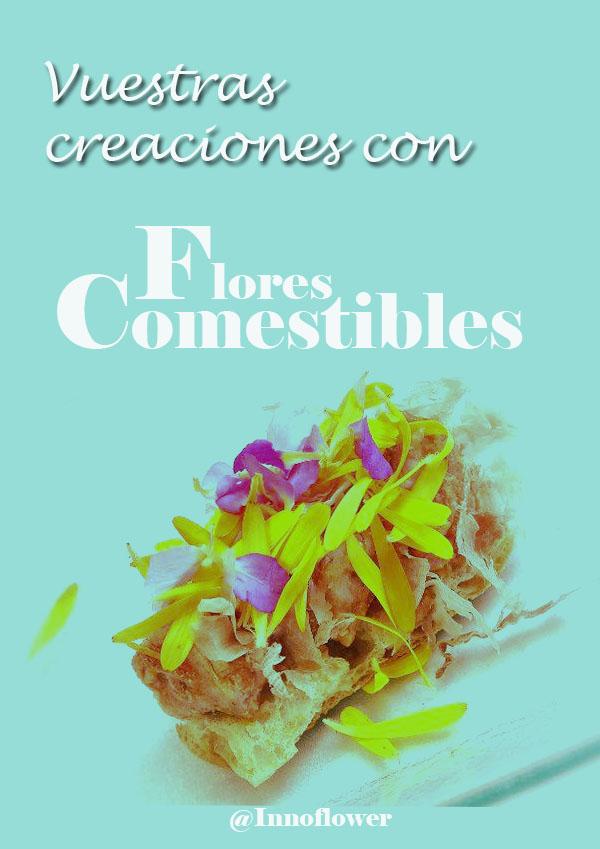 Innoflower ideas para cocinar con flores comestibles ideas - Flores para cocinar ...