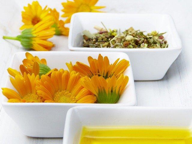 Cocinar con flores de caléndula